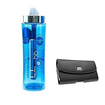 blueqq FDA certificación Premium alcalinas ionizador de agua mineral botella 700 ml + iPhone 6 Plus