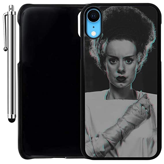 black personalised iphone xr case