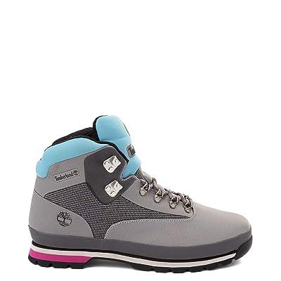 Mens Timberland Euro Hiker Jacquard Boot - Gray, 10 M/M | Hiking Boots