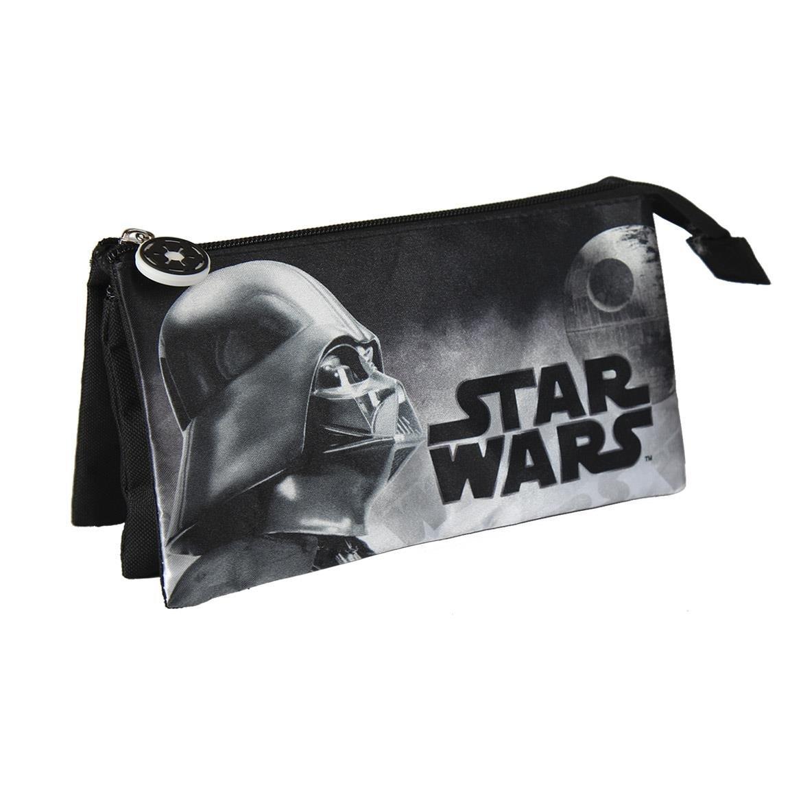 Star Wars Estuche portatodo triple Artesanía Cerdá