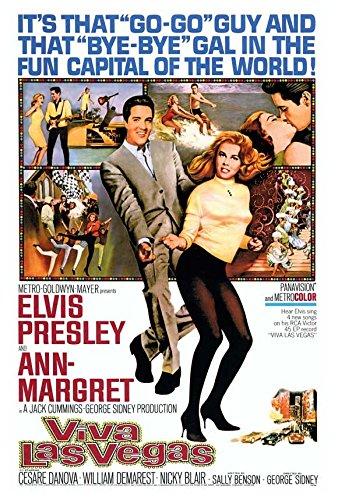 Elvis Movie Poster (27 x 40 Viva Las Vegas Movie Poster)