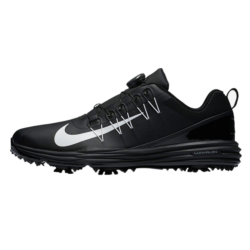 finest selection 47da6 2e386 Galleon - NIKE Men s Lunar Command 2 BOA Golf Shoes, Black White Black, 7.5  M US