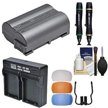 Amazon.com: Nikon EN-EL15 A Batería recargable Li-ion con ...