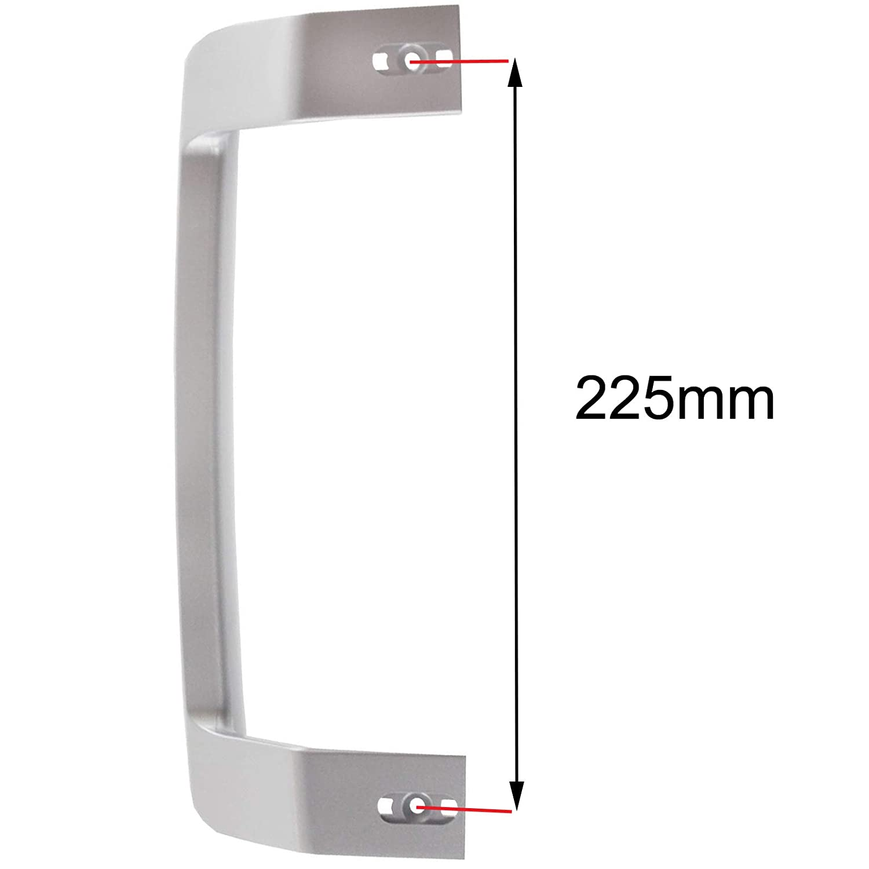 Spares2go - Tirador de puerta para frigorífico Beko: Amazon.es ...