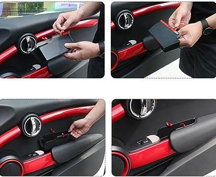 Onever Auto Innenseite Vordertürgriff Armlehnen Aufbewahrungsbox Tabletthalter Für Mini Cooper F56 Auto Styling Zubehör Auto