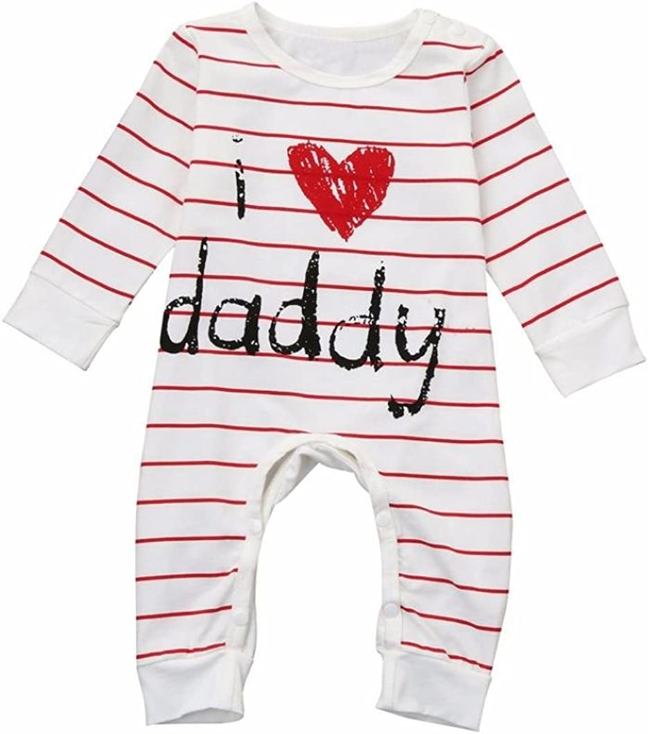 Fathers Day Baby Vest My First Fathers Day Date 2017 Baby Cute Bodysuit Gift 105