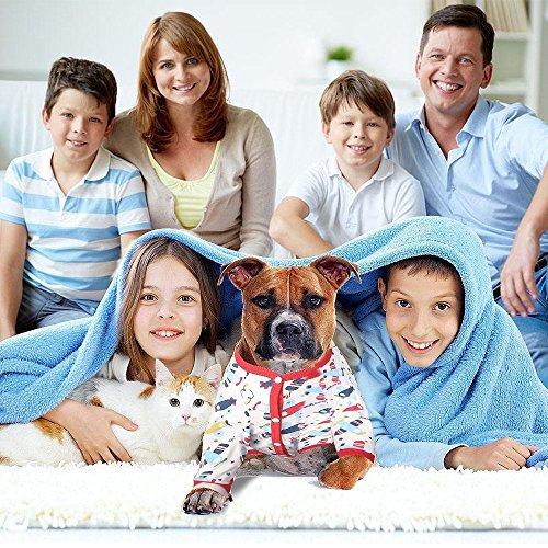 Amazon.com : LovinPet Large Dog Clothes Dog Shirt Post Surgery Wear Cotton Airplane Big Dog Pajamas for Pitbulls Labrador Retriever Boxer Large Dogs (Please ...