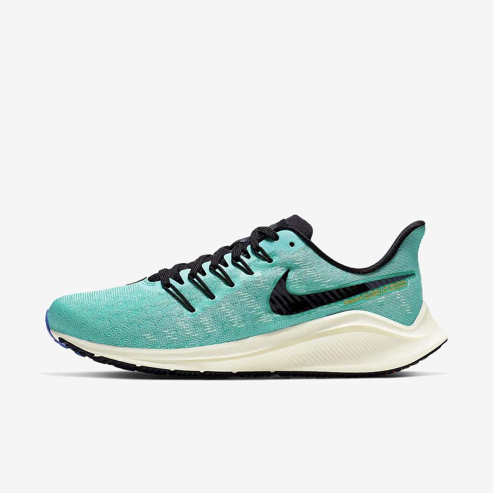 MultiCouleure (Hyper Jade noir Sail Sapphire 000) 42 EU Nike WMNS Air Zoom Vomero 14, Chaussures d'Athlétisme Femme