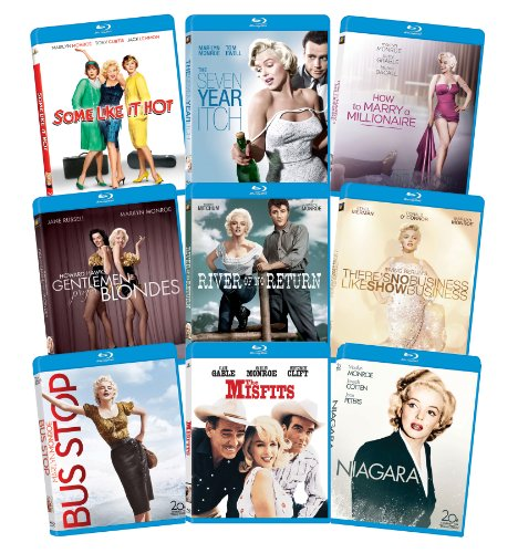 Marilyn Monroe: Classic 9 Film Collection [Blu-Ray] by 20th Century Fox