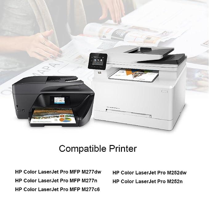 Cartucho de Tóner Compatible HP 201X 201A 7Magic para HP Color ...