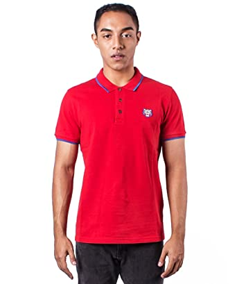 89fb337770 Kenzo Men's Red Tiger Head Polo Shirt: Amazon.co.uk: Clothing