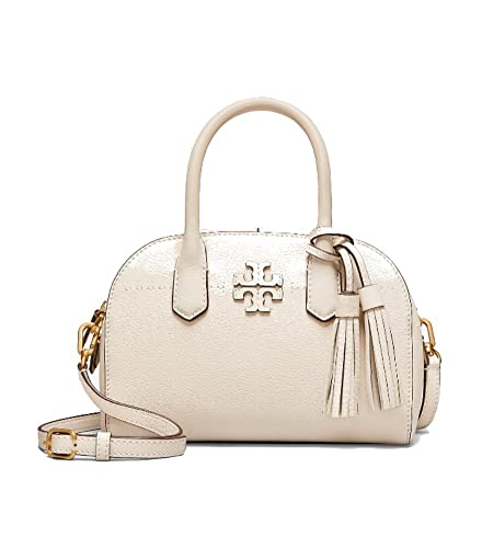 384793c8035 Amazon.com  Tory Burch Mcgraw Small Satchel- New Ivory  Shoes