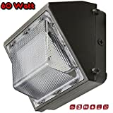 60 Watt - LED Traditional Wall Pack Area Light - 4000 Kelvin - 7,052 Lumens - DLC & cULus Listed - 5 Yr Warranty - Energy Efficient - Reduce Costs - Perfect for perimeter and area lighting