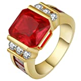 Jixin4you 18K Gold Pave CZ Cubic Zirconia Wedding