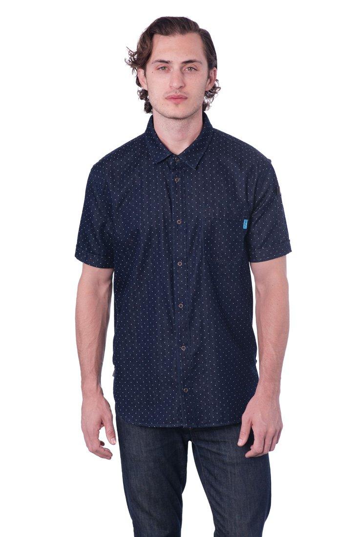 Pindot Work Shirt (X Large - Chest size 42''-44'') by BlueCut