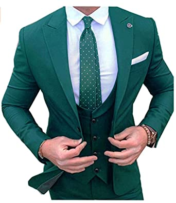 ak beauty men suit 3 pieces classic fit business suit wedding suits