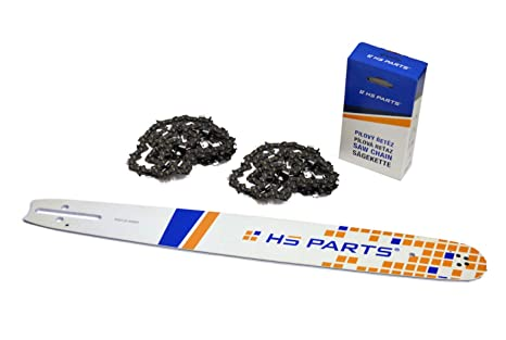 2d869273b7fb HS Parts Espada 45 cm 325 + 2 x Cadena 72 eslabones 325 1