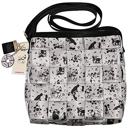 Disney Harveys Bag - Mickey Mouse Steamboat Willie - Mini Messenger Purse ()