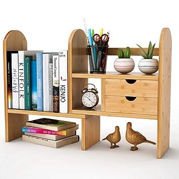 Standregal Bücherregal Küchenregal DIY Tisch Organizer Schreibtisch Organizer DE