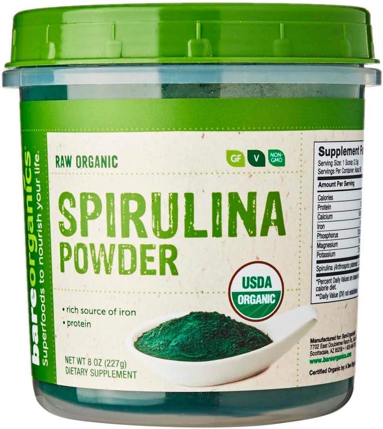 SPIRULINA Powder (Raw - Organic)