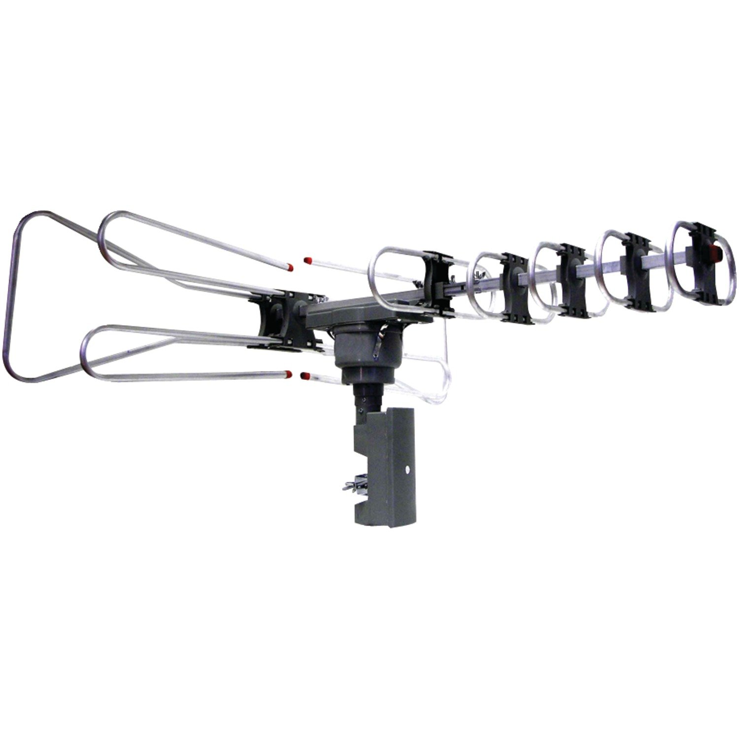 NAXA Electronics NAA-350 High Powered Amplified Motorized Outdoor Antenna Suitable For HDTV and ATSC Digital Television