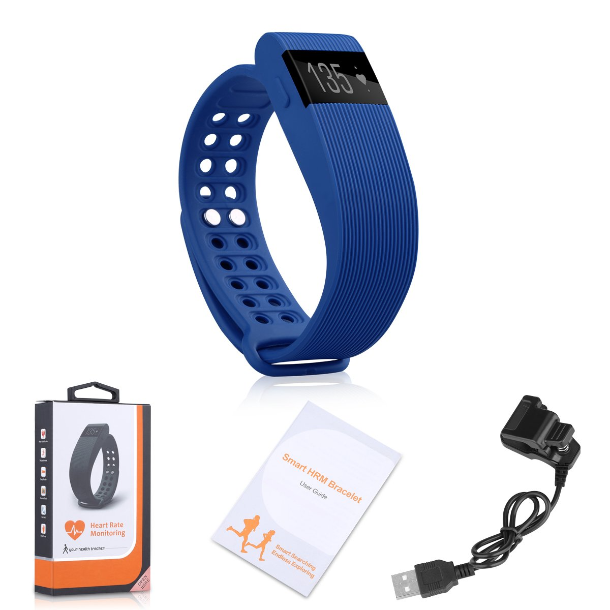 Amazon Com Diggro Id105 Heart Rate Smart Bracelet Watches Call Sms