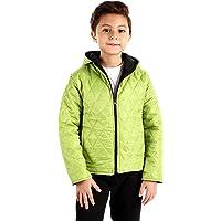 Andora Boys Double Face Zipped Jacket - Black &