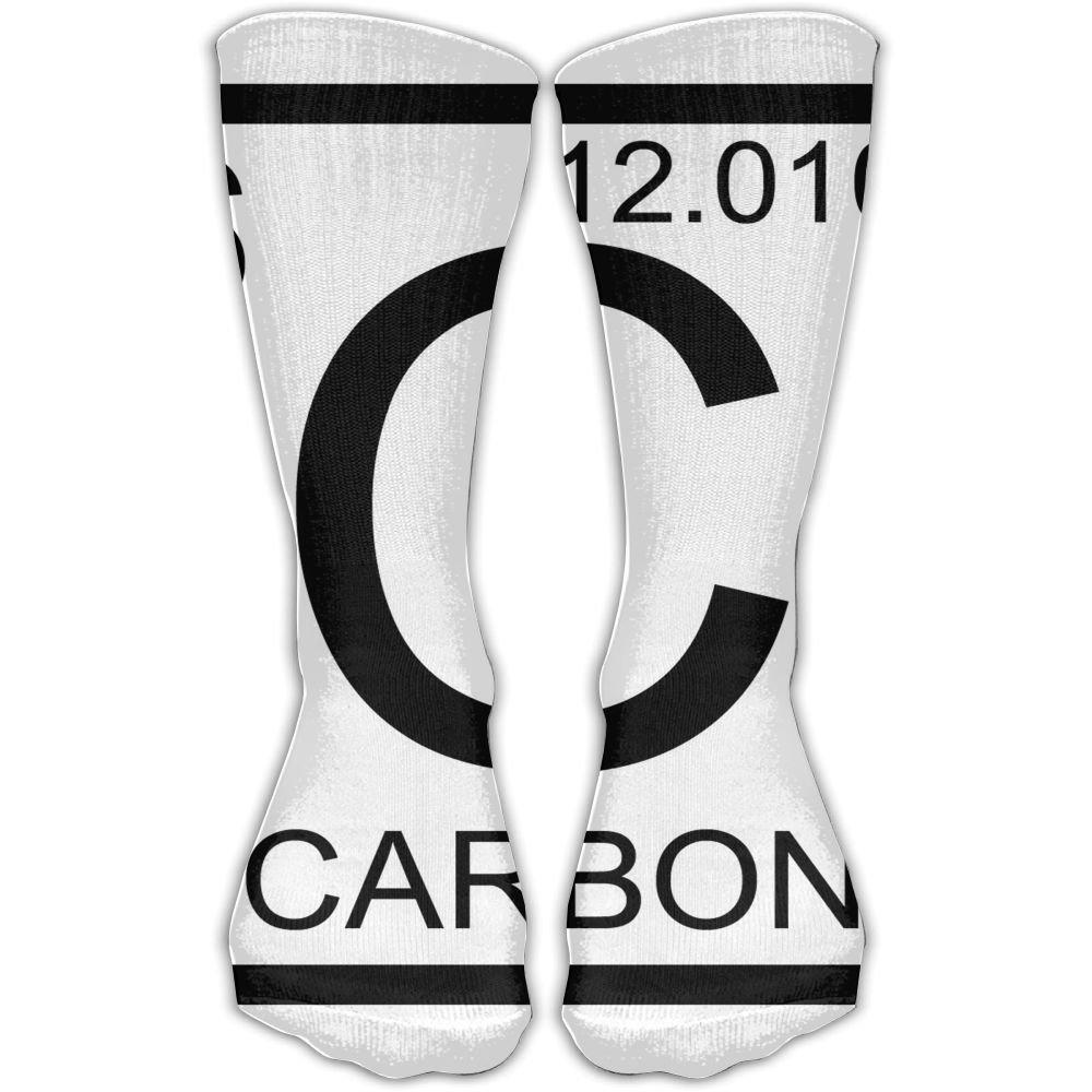SESY C Chemical Element Carbon Unisex Crew Socks Short Sports Socks.