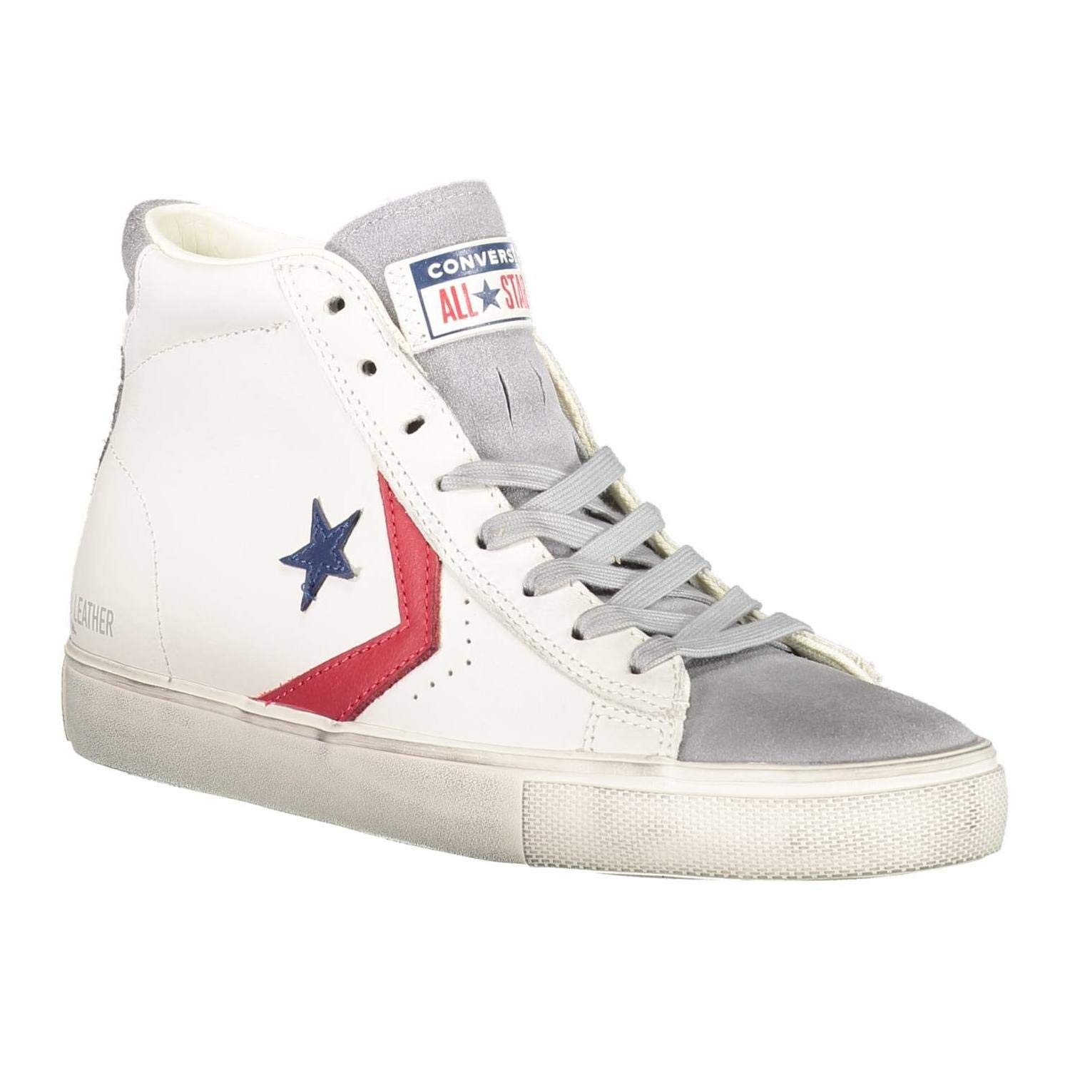 6b0909eb89a424 Converse Lifestyle Pro Leather Vulc Distressed Mid