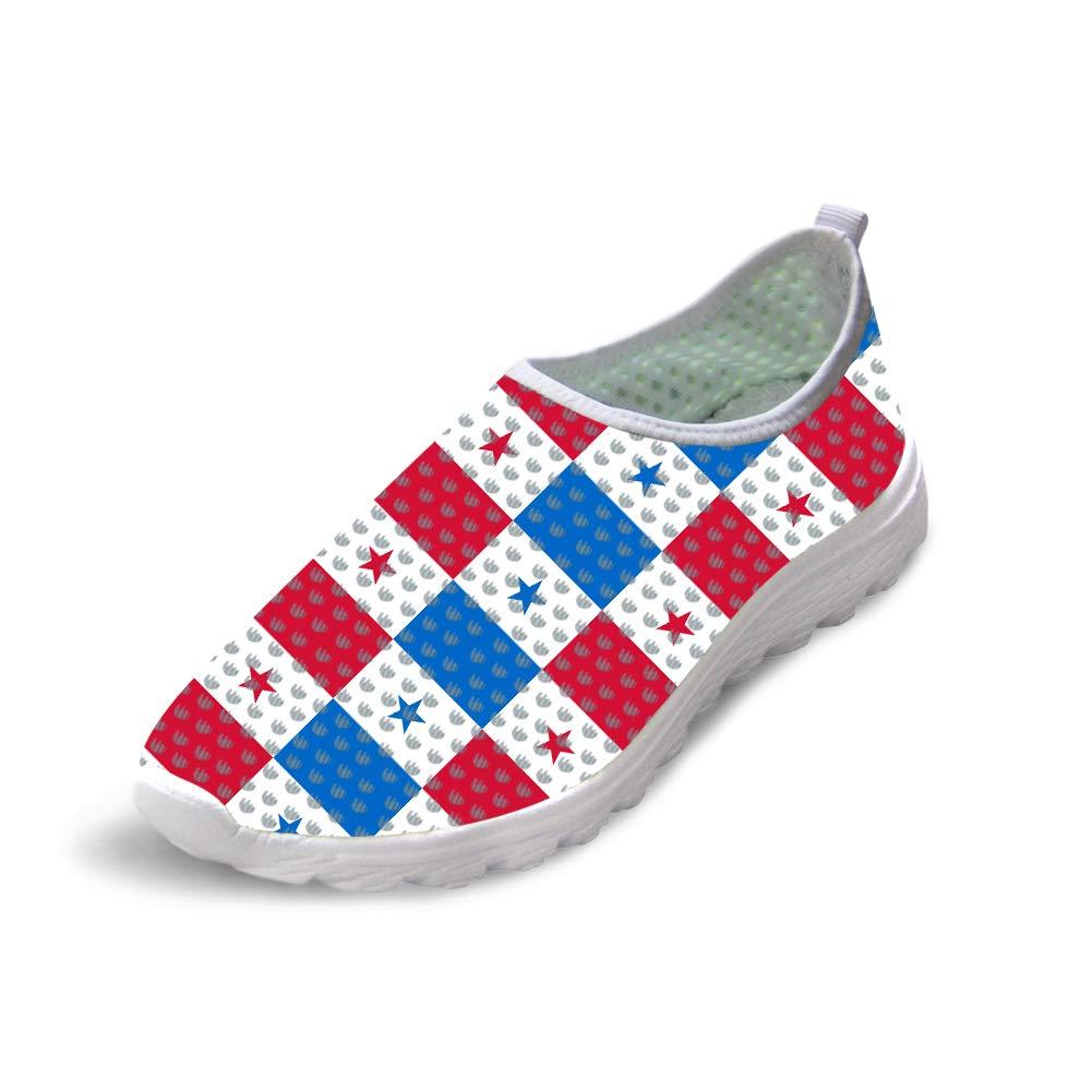 Owaheson Trail Runner Running Shoe Casual Sneakers Panama Flag