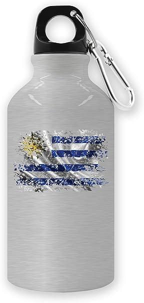 Uruguay South America Montevideo Country Series Nationality Flag Nice To Botella de Agua para turistas: Amazon.es: Deportes y aire libre