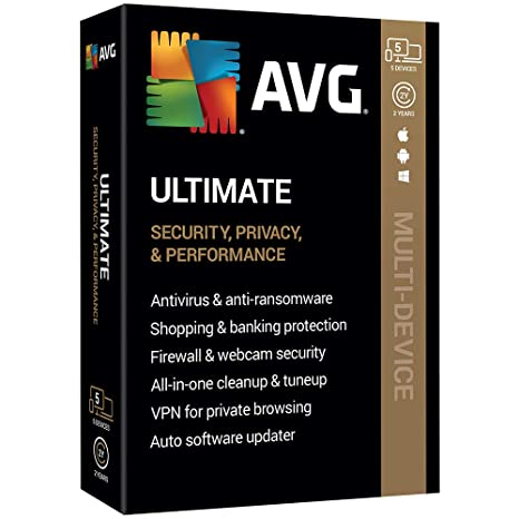 Avg Ultimate 2020 Review.Avg Technologies Avg Ultimate 2020 5 Devices 2 Year 2020