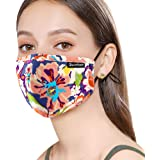 Sunsturm Dust Mask Reusable Cotton Face Mouth Mask with Activated Carbon Filter for Gardening Woodworking Mowing Outdoor…