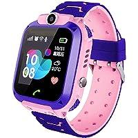 Smartwatch Niños, IP67 impermeable Relojes para Niños, LBS, Hacer Llamada, Chat de Voz, SOS, Modo de Clase, Cámara…
