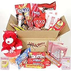 Valentine's Day Care Package for College Student / Military Service Members