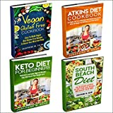 Weight Loss Diet Plans: 4 Manuscripts: Vegan Gluten Free Cookbook, Atkins Diet Cookbook, Keto Diet for Beginners, South Beach Diet