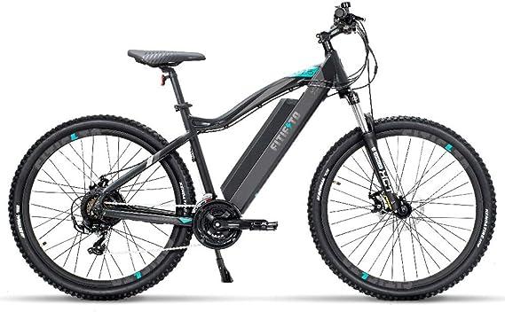 Fitifito Copenhagen Bicicleta eléctrica de montaña de 69,85 cm, E ...