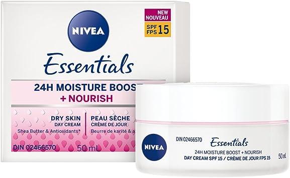 nivea essentials day cream