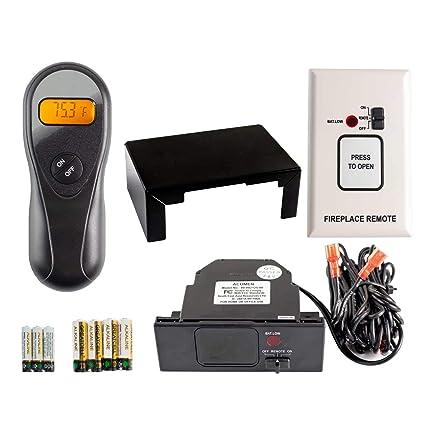 amazon com hearth products controls acumen on off fireplace remote rh amazon com