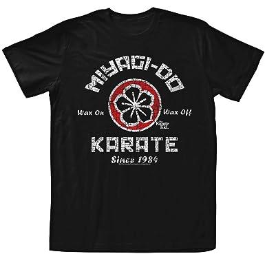 2831f883a92 Amazon.com  American Classics Men s Karate Kid Miyagi Do T-Shirt  Clothing