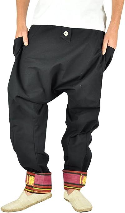 Virblatt Pantalones Cagados Mujer Harem Pants Pantalones Anchos Baggy Freudentanz Amazon Es Ropa Y Accesorios