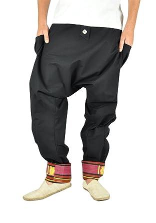 941f6ae8c5aca virblatt Comodi Pantaloni alla Turca per Uomo e Pantaloni Cavallo Basso per  completare l Abbigliamento