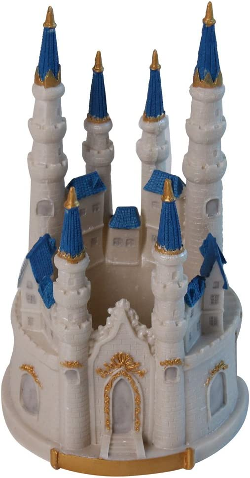Fantastic Amazon Com Cake Topper Castle Kitchen Dining Funny Birthday Cards Online Inifofree Goldxyz