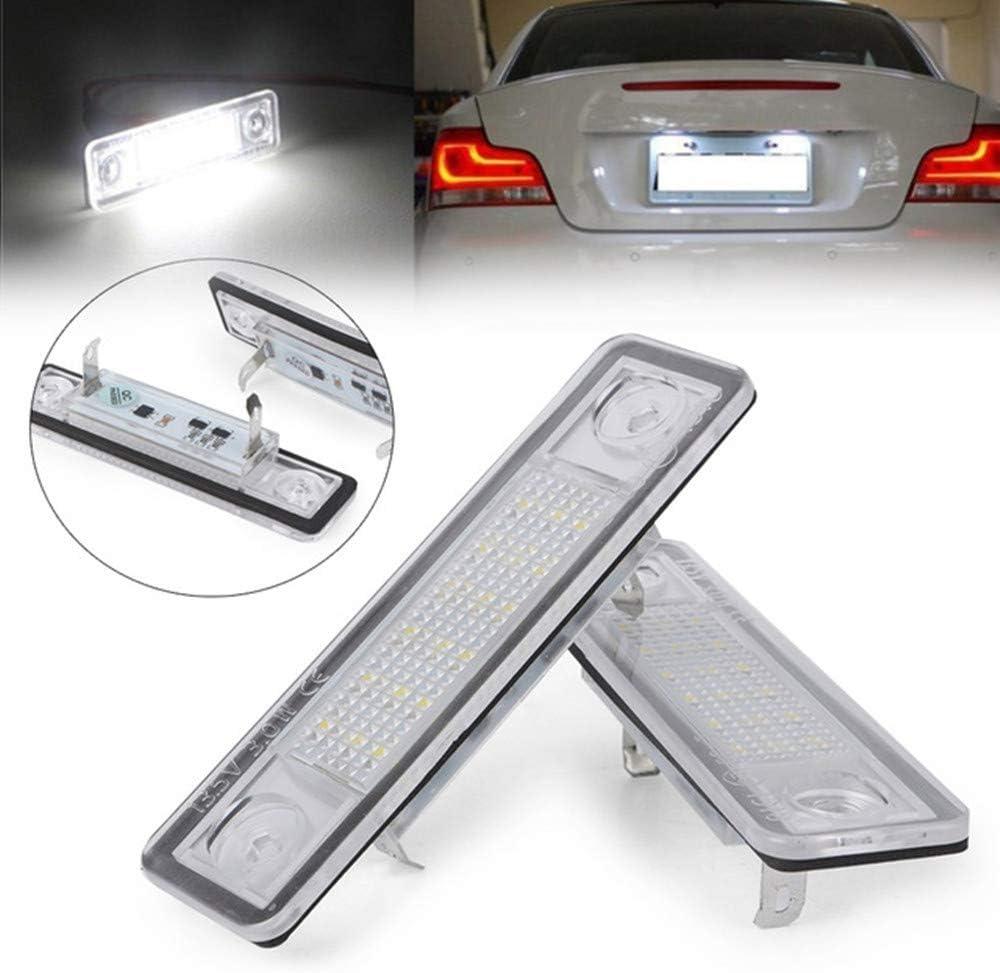 ZHANGNA 2 Pezzi Auto Luci Della Targa Luce Targa Lampada Illuminazione per Targa License Plate Lights Citroen