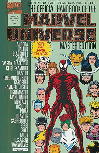 Official Handbook of the Marvel Universe Master Edition #29