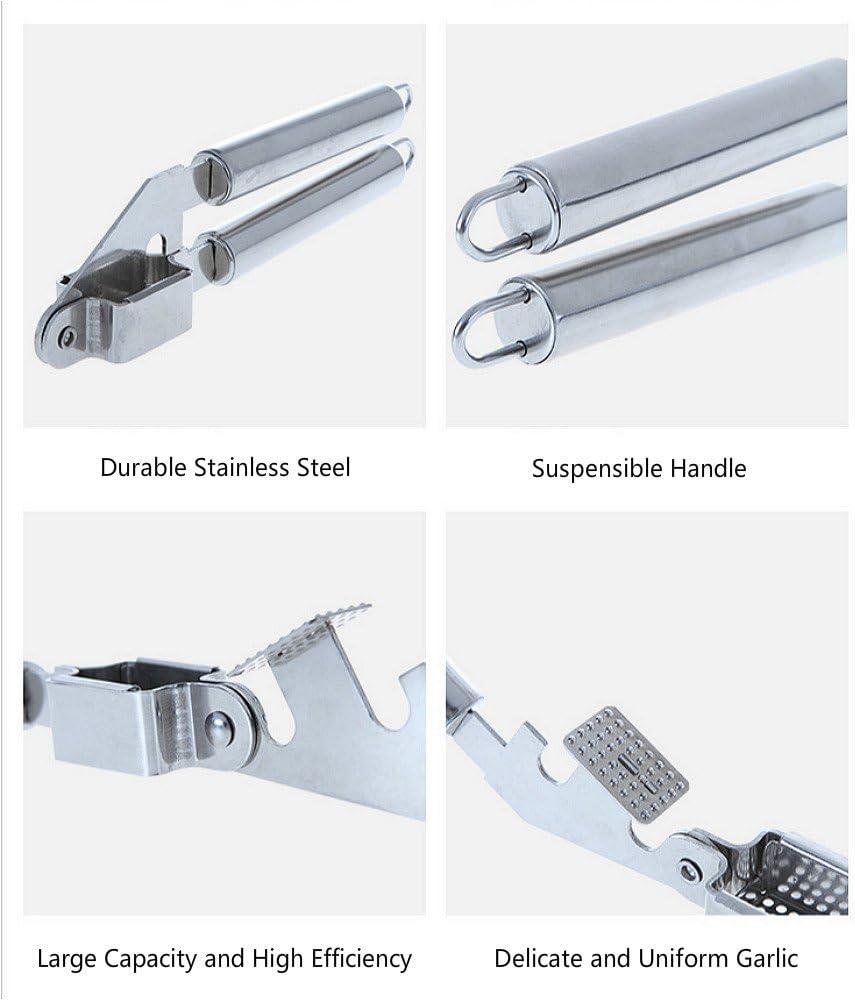 GARLIC PRESS 1Pcs Pinzas de Basura de Aluminio Alcanzador Plegable Pinza Largo para Recoger Objetos Herramienta de Captura de Mano para Jardiner/ía