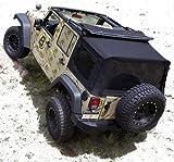 Bestop 54823-17 Supertop NX Black Twill Complete Replacement Soft Top