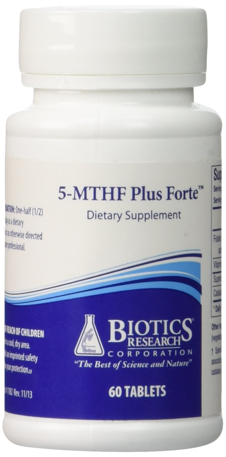 5-MTHF Plus Forte 60 Tablets By Biotics Research