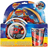 Blaze And The Monster Machine - Set desayuno 3 piezas melamina sin orla (Stor 85990)