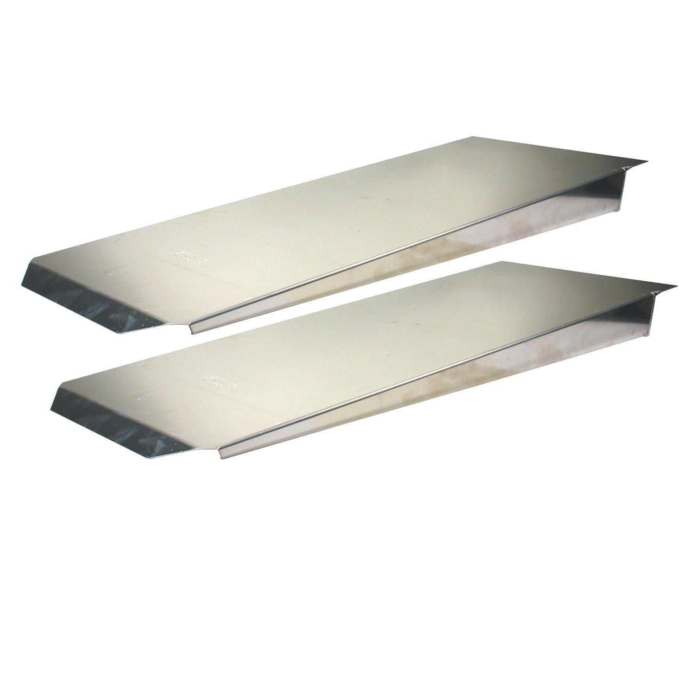 Pit Pal Products 702 14 x 72 Aluminum Dual Trailer Ramp
